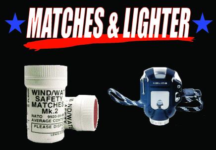Microsoft Word - MATCHES/LIGHTER.doc