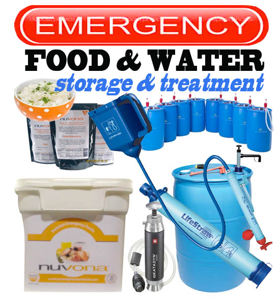 Water & Food Storage