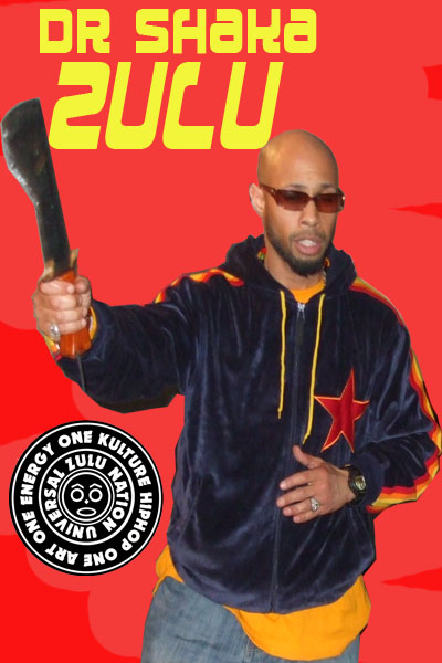 African Martial Artist Dr Shaka Zulu