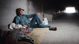 The homeless live in Las Vegas tunnels.