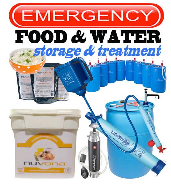 Water & Food Storage